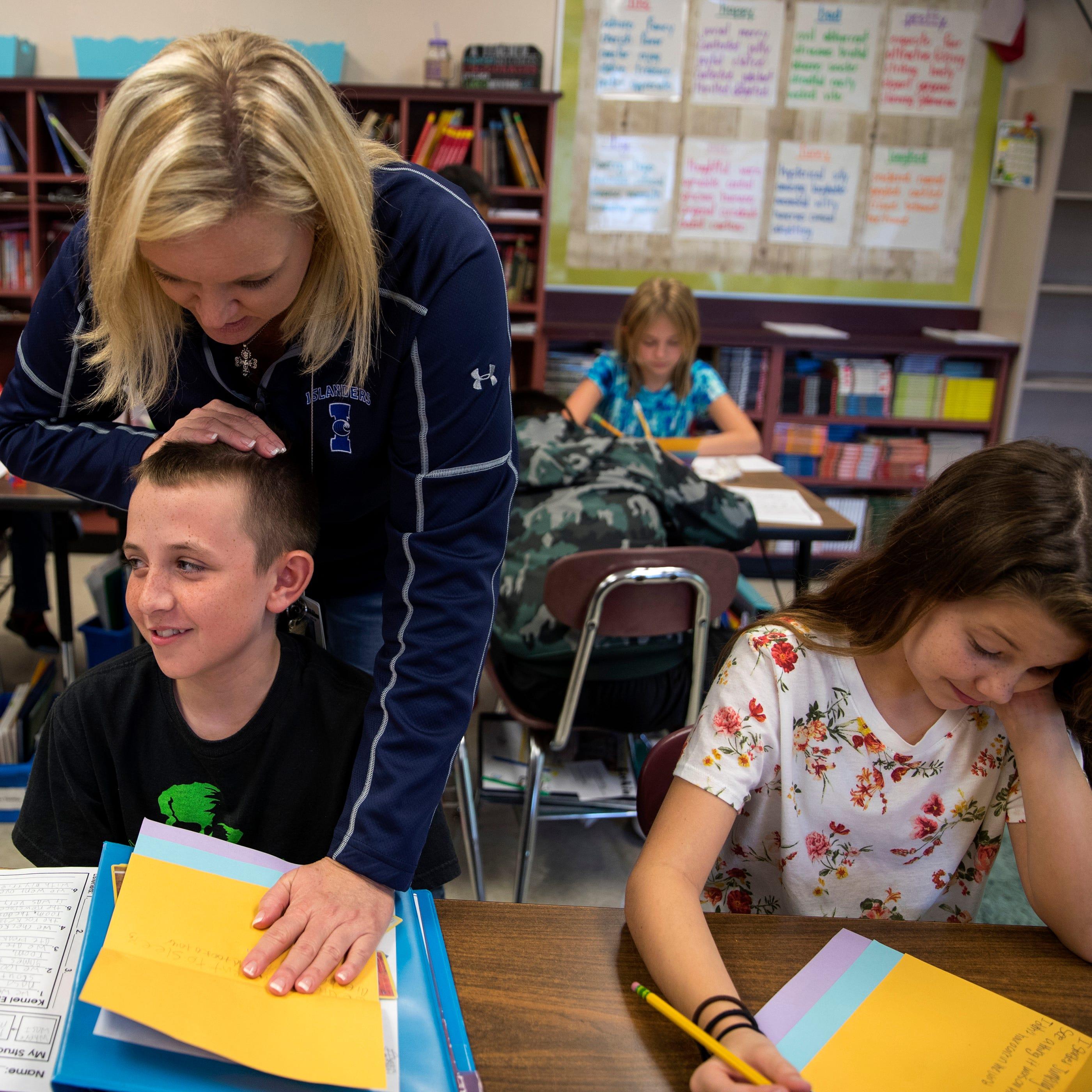 This Texas teacher took a $30K pay cut to keep teaching, now she's also a cashier