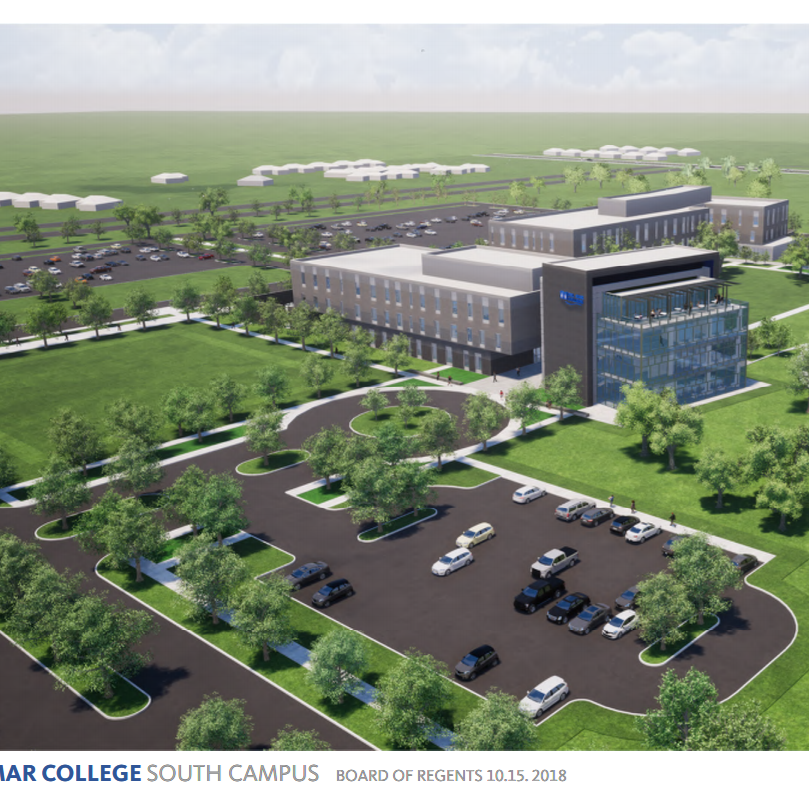 Del Mar College regents approve new master plan for Southside campus