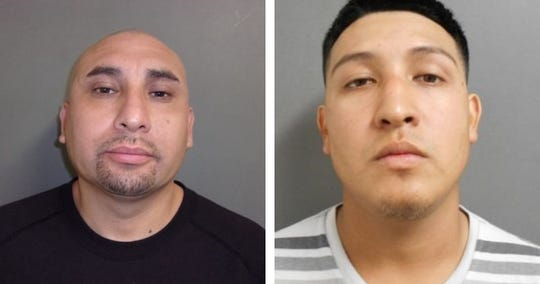 Ronnie Rodriguez Sr. and Ronnie Rodriguez Jr. are suspected of being in connection with the fatal shootings of four men at a 1-year-old's birthday party in Taft on Oct. 13, 2018. Ronnie Rodriguez Sr. was arrested in McAllen for suspicion of capital murder, and Ronnie Rodriguez Jr. was arrested in San Patricio County for suspicion of deadly conduct discharging a firearm.