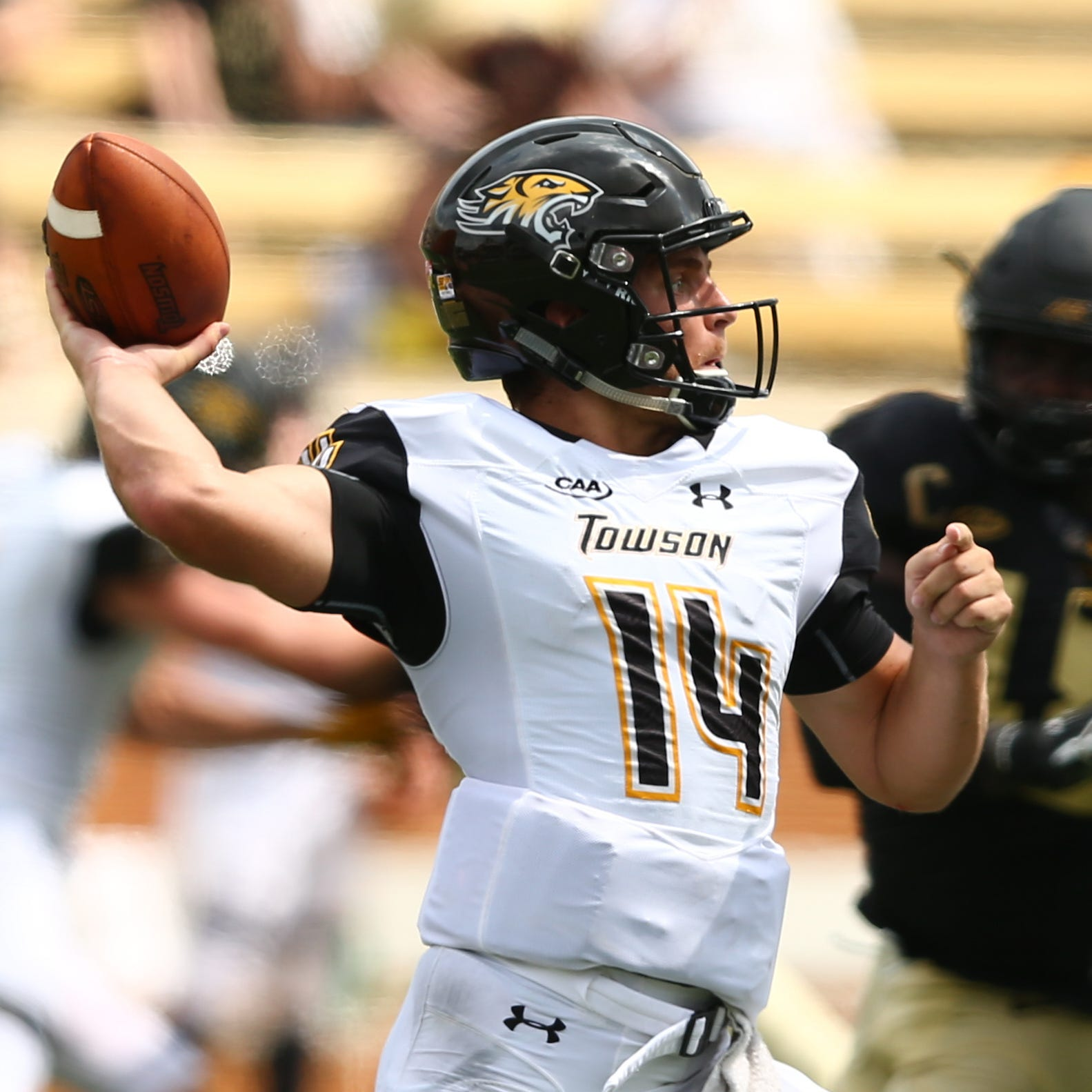 Eastern graduate Tom Flacco piling up numbers in first season at Towson