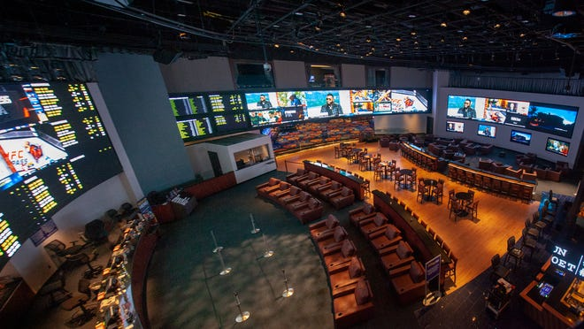 The William Hill Sports Book at the Ocean Resort Casino.