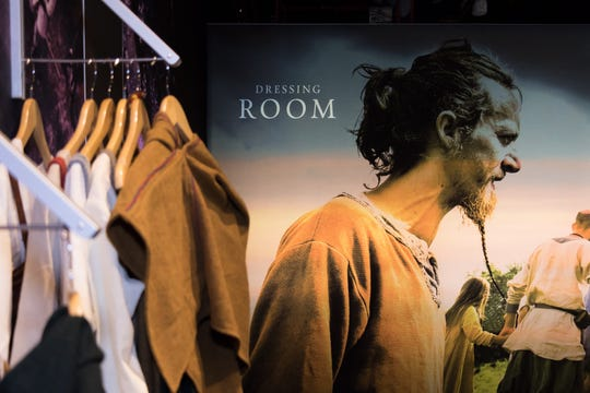 The Franklin Institute includes various ways to immerse yourself in the 'Vikings' exhibit, including a dressing room to don period clothing.