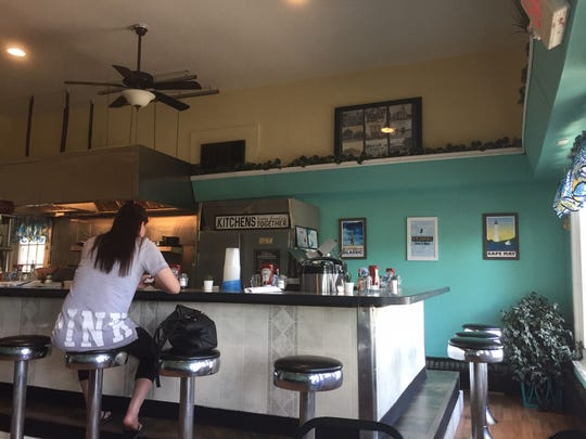 The Farmacy NJ is a former luncheonette that is now an open-kitchen brunch-and-dinner restaurant, The Farmacy NJ.