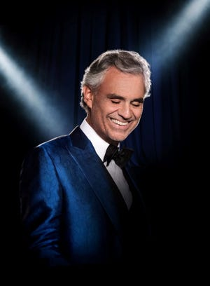 Opera standout singer Andrea Bocelli plays U.S. Bank Arena Oct. 19