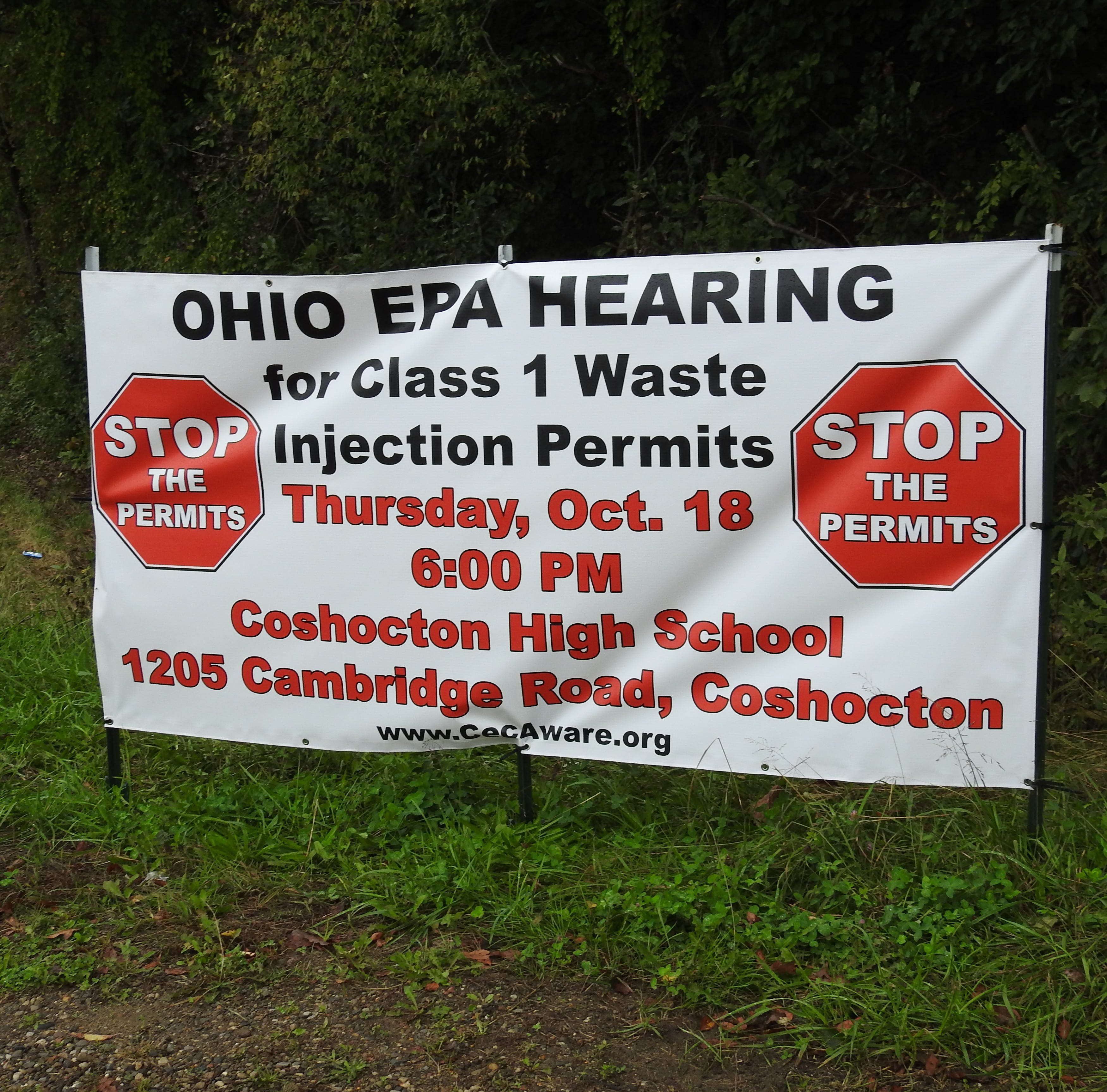 EPA holding second hearing on Buckeye Brine