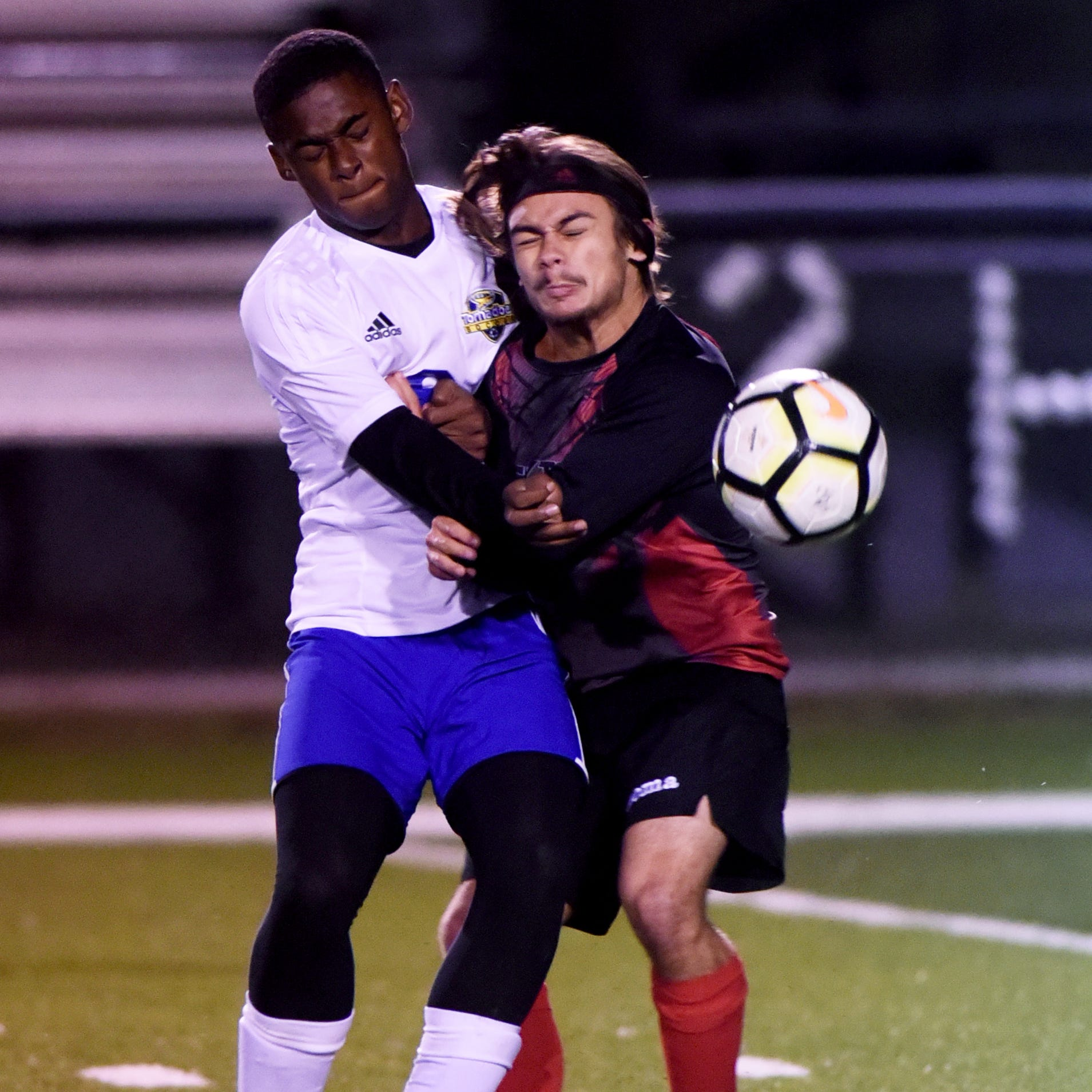 Boys soccer: 'Skins get physical in tourney win