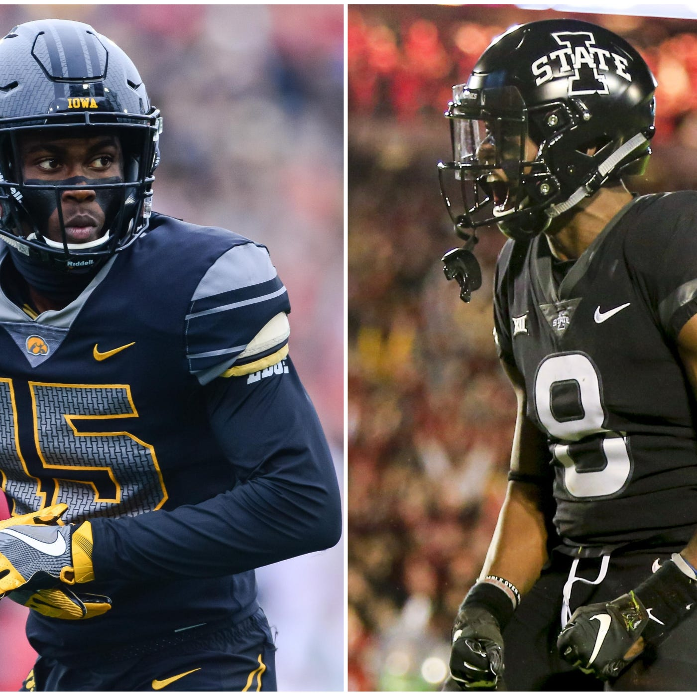 Can alternate uniforms help athletes hit new heights? Cyclones, Hawkeyes might say so.
