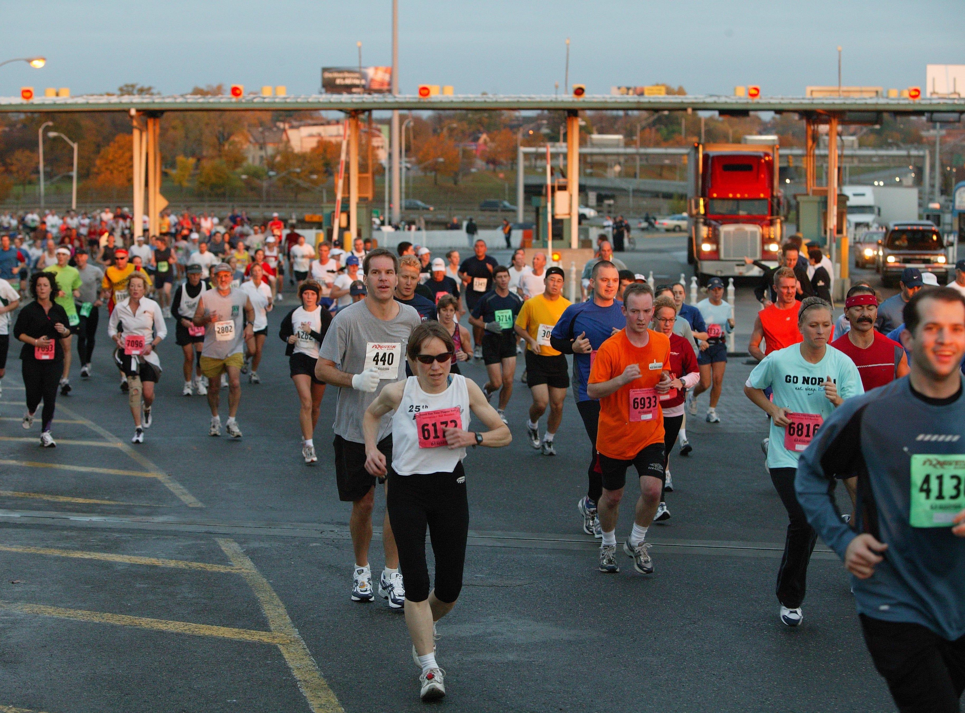 27th Annual Detroit Free Press Marathon on Sunday October 24th, 2004.