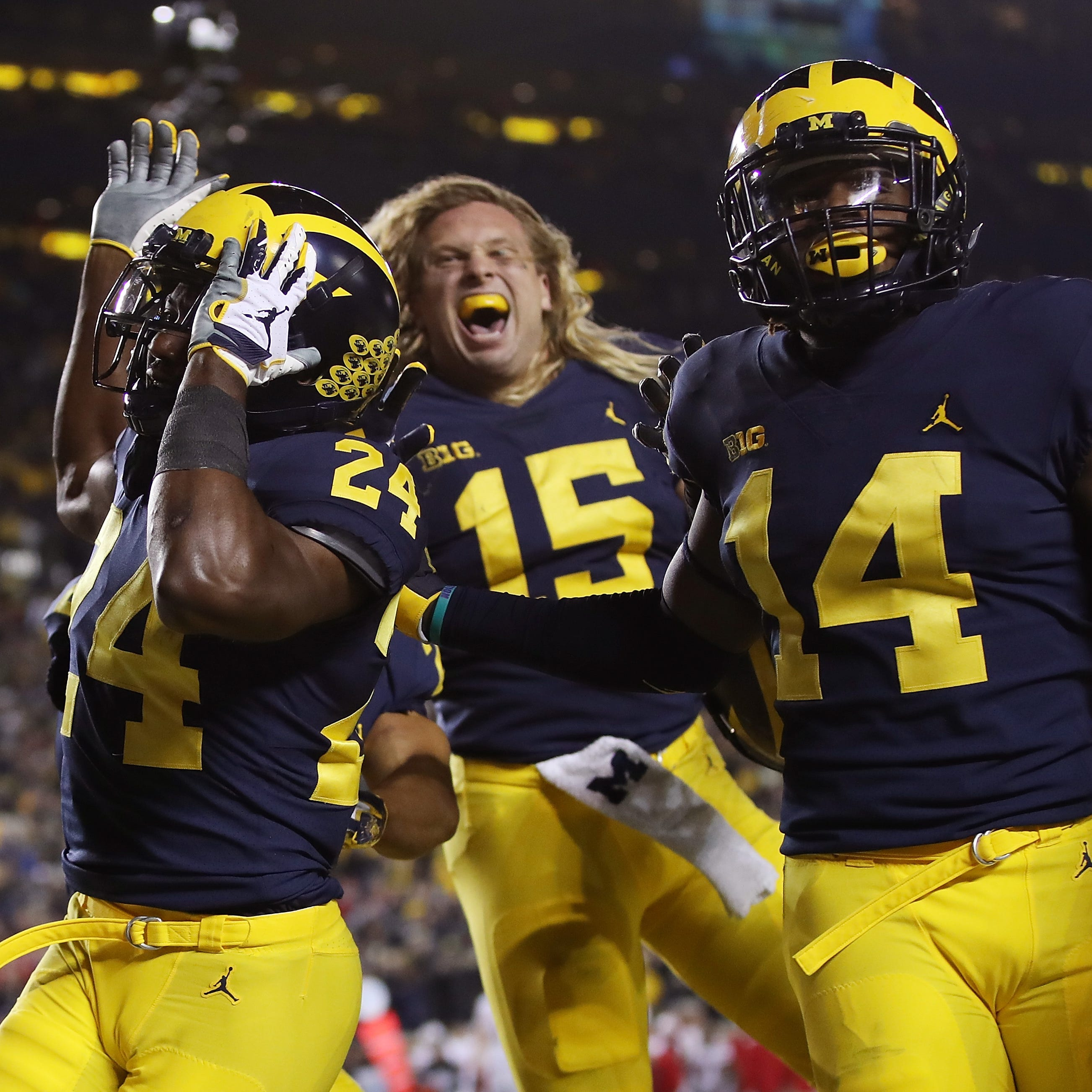 Michigan has best chance to reach playoff as 1-loss team, ESPN says