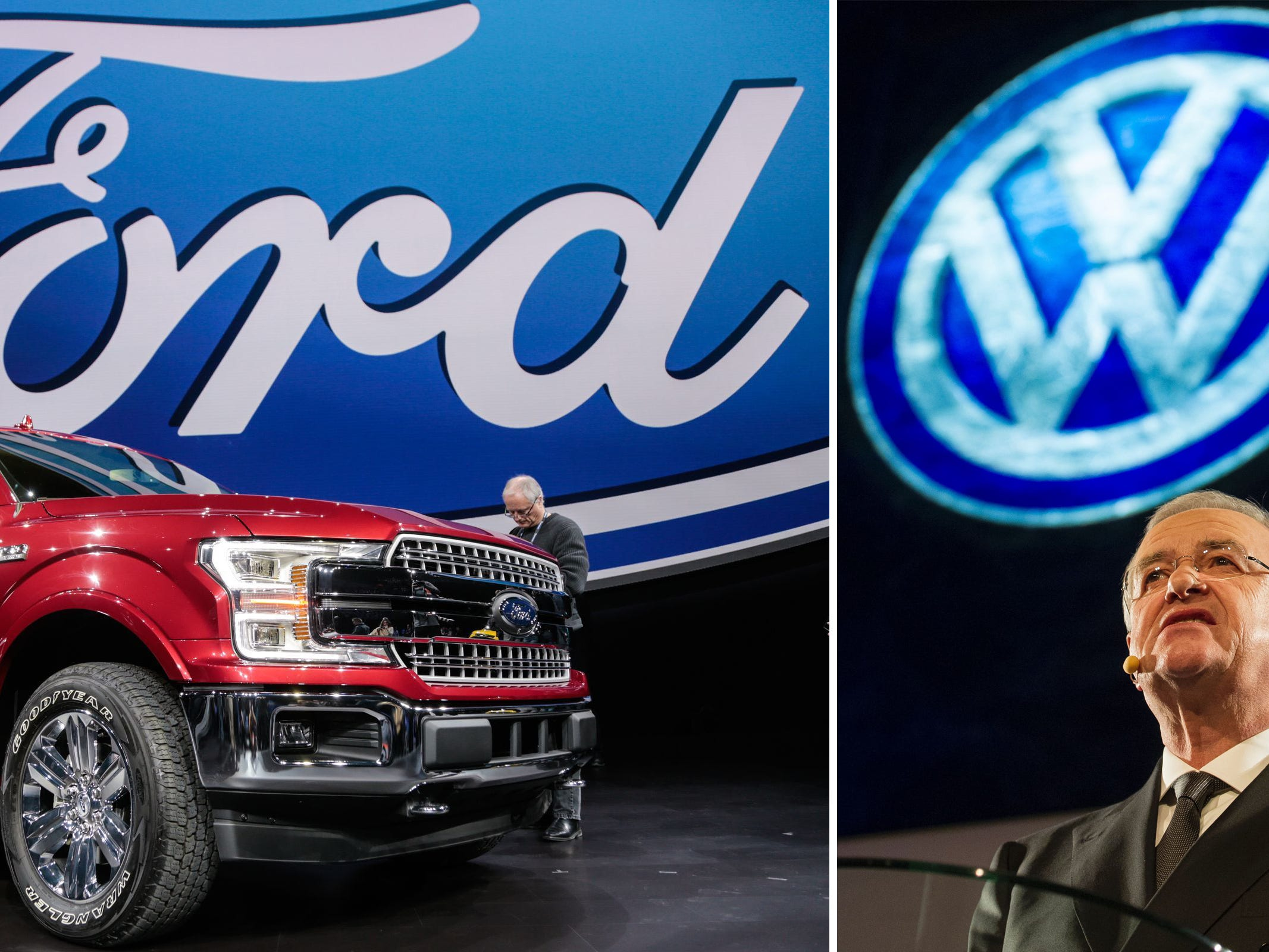 Ford-VW alliance sure to include commercial trucks; more Tuesday