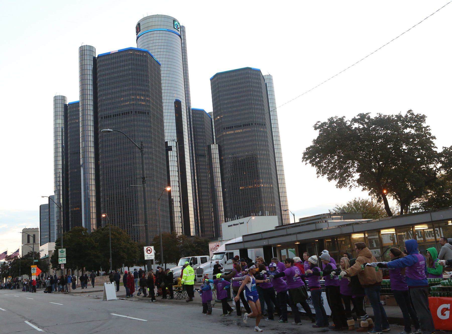 The 36th annual Detroit Free Press/Talmer Bank Marathon on Sunday, Oct. 20, 2013.
