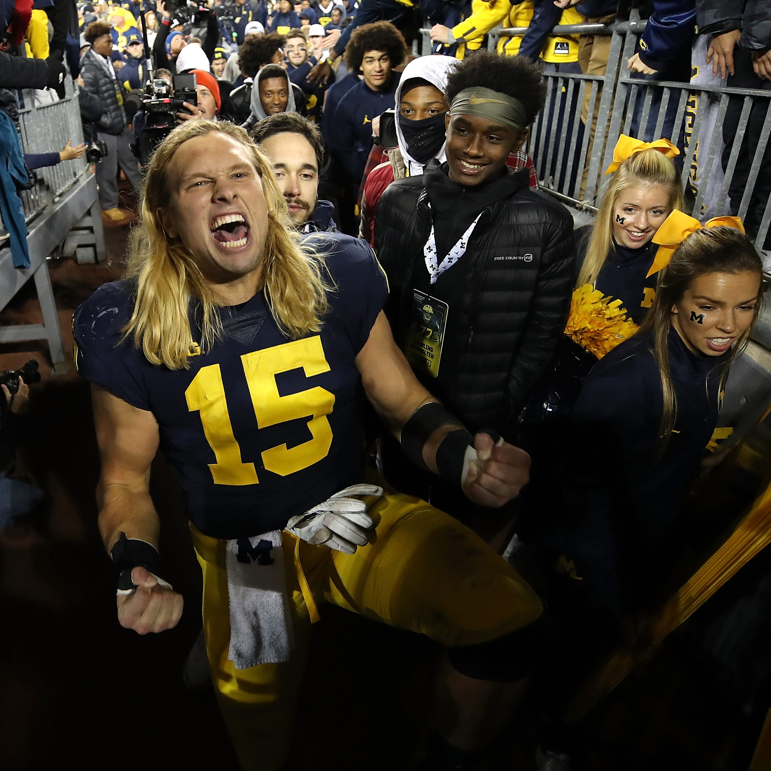 Jim Harbaugh's original guys get Michigan football Senior Day shine