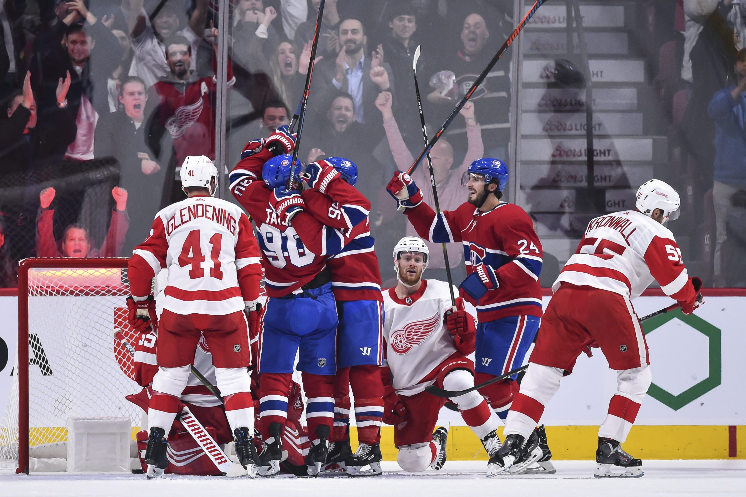 Detroit Red Wings makea mockery of themselves in 7-3 loss to Montreal
