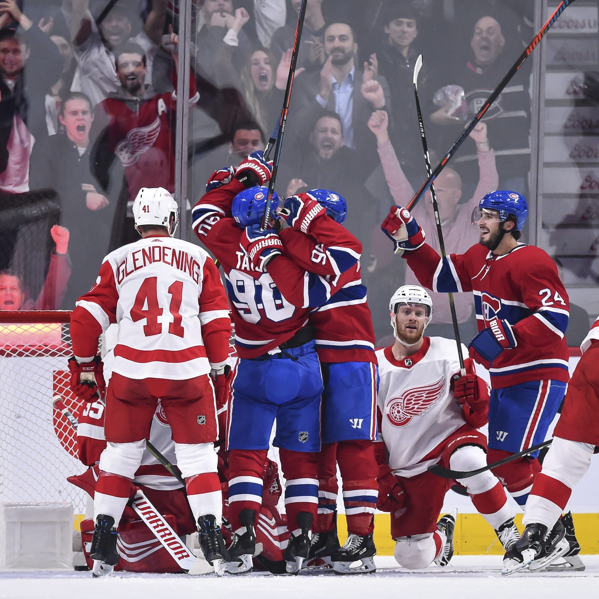 Detroit Red Wings make a mockery of themselves in 7-3 loss to Montreal
