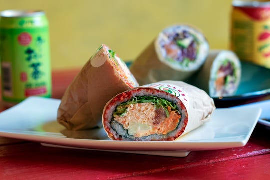 Poke Burri burrito