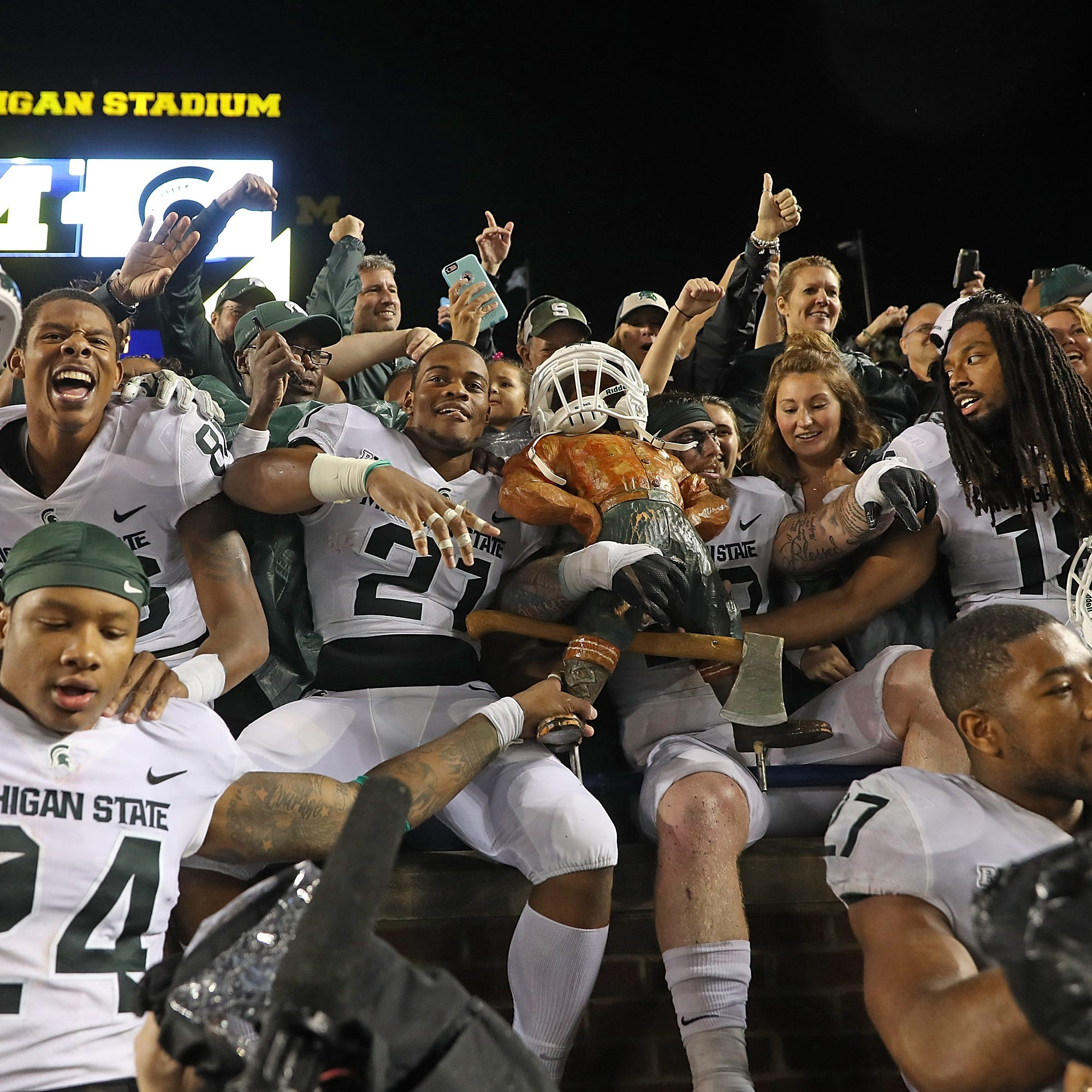 Spartans on rivalry with Wolverines: 'It's why you come to Michigan State'
