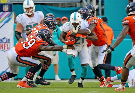 Miami Dolphins Against The Chicago Bears 10 14 2018