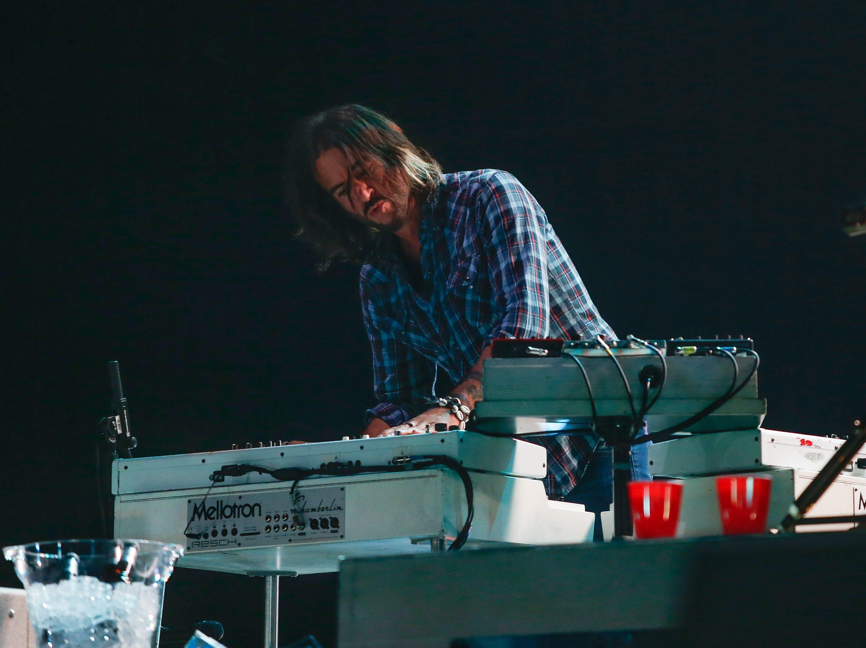 Foo Fighters keyboardist Rami Jafee.