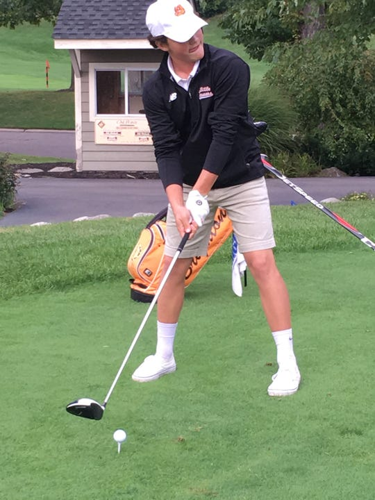T-Bone Codd won the Golf Association of Michigan 14U Match Play Championship.