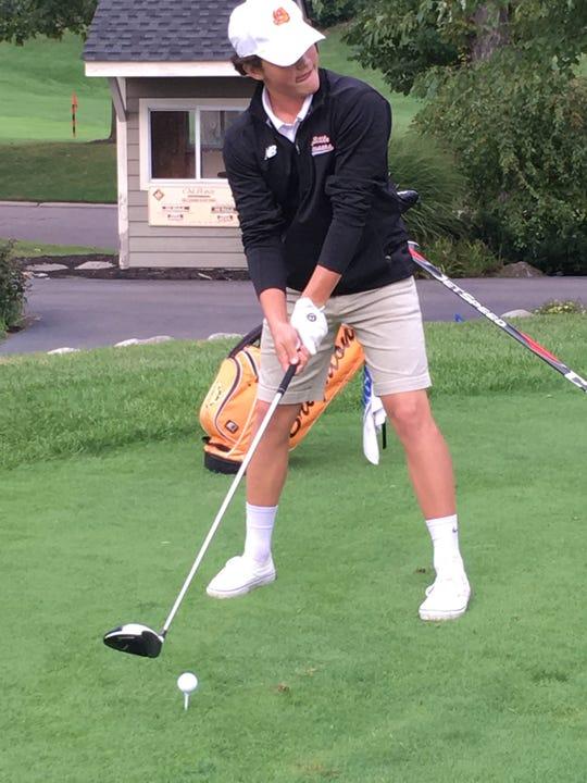 T-Bone Codd won the Golf Association of Michigan 14U Match Play Championship.