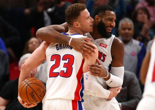 Tom Gores is betting on Blake Griffin and Andre Drummond.
