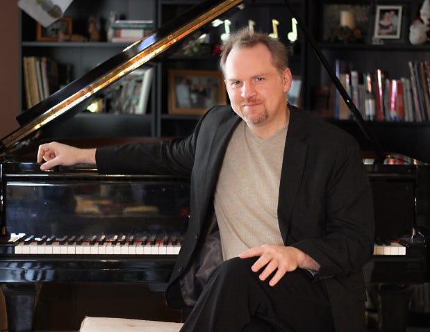 Detroit pianist, composer and arranger Scott Gwinnell.