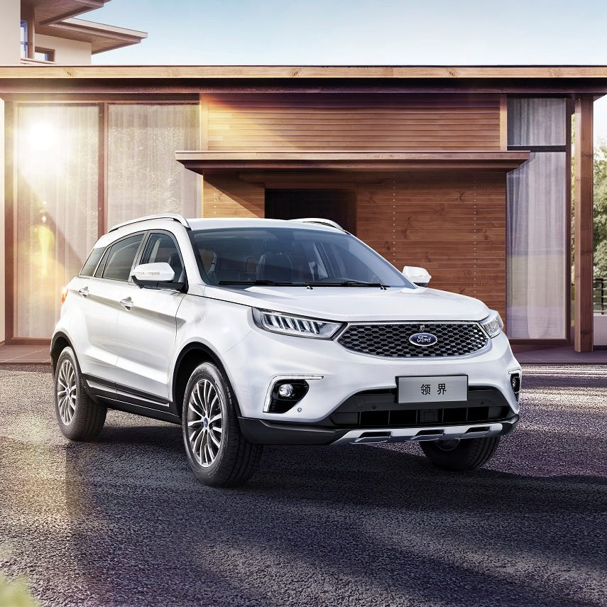New Ford Territory SUV signals moves in China