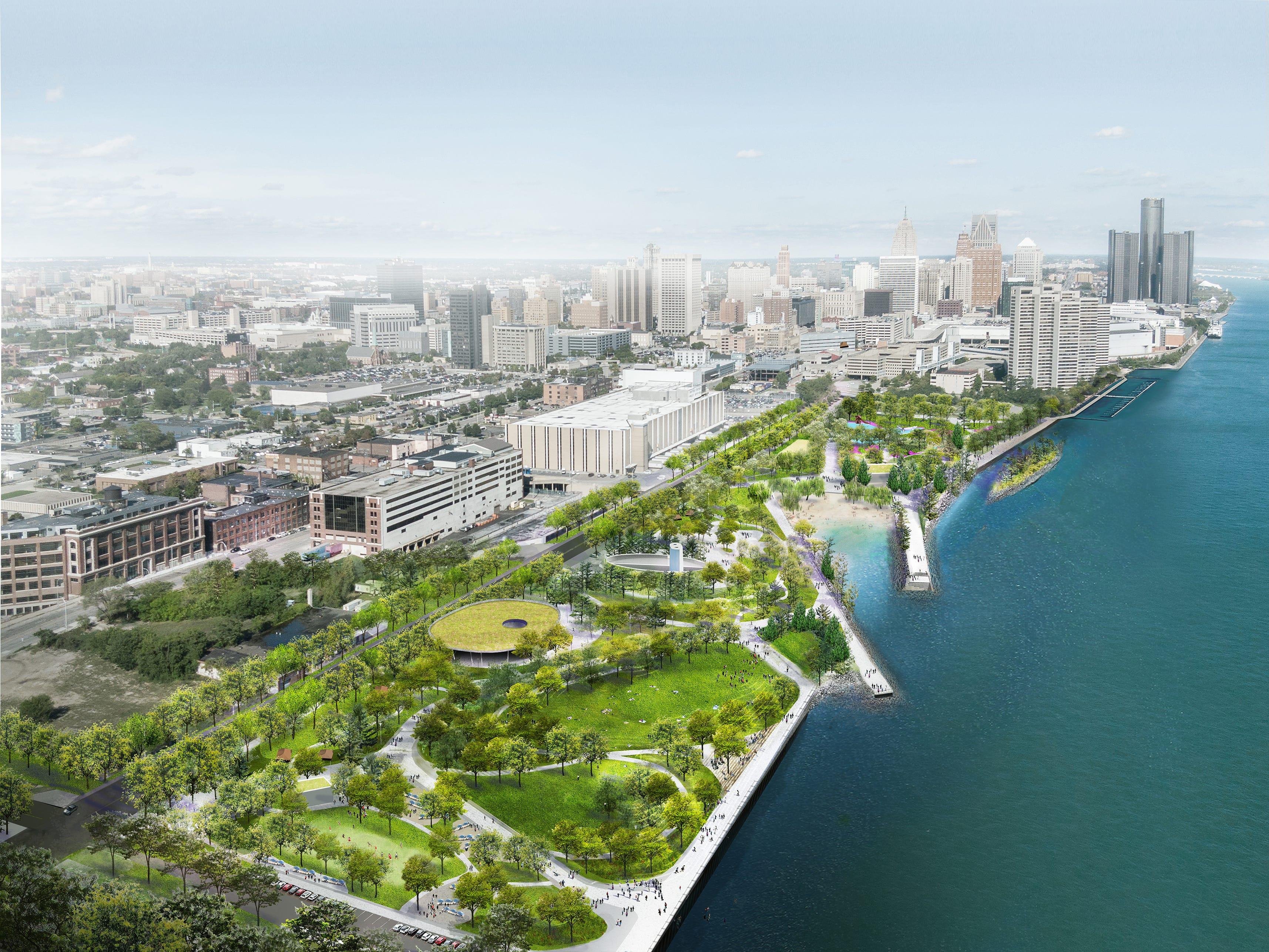 Howes: Wilson foundation pledges $100 million to riverfront park, trails