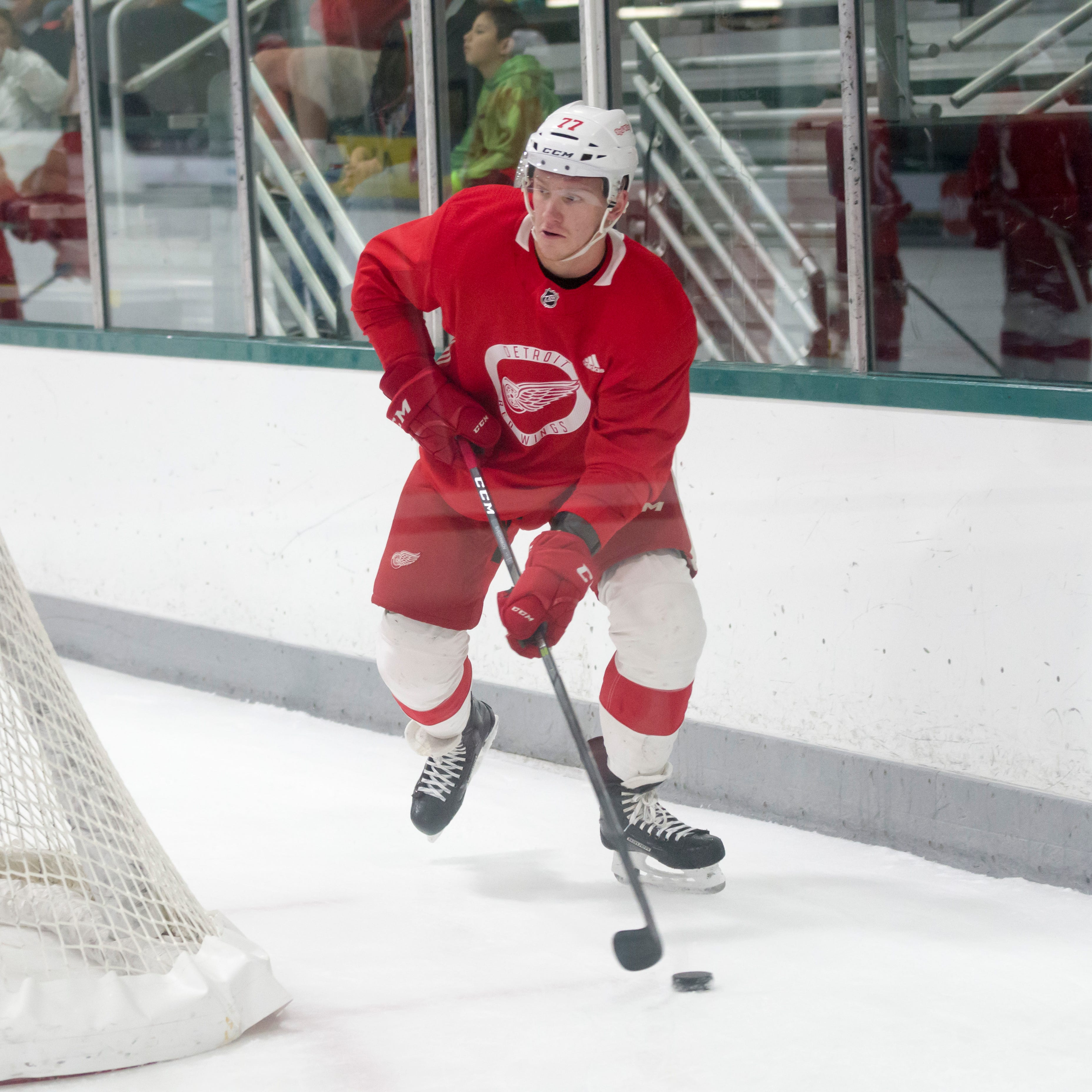 Red Wings' Svechnikov out for season after surgery