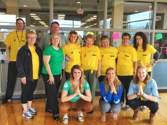 LIVESTRONG at the YMCA survivors and program staff get to experience yoga classes, among others.