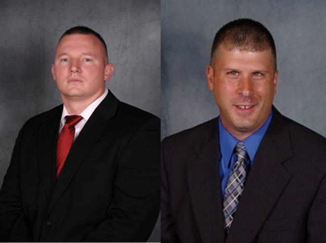 """Detectives Panagiotis """"Pete"""" Vergos and Ryan Murphy"""
