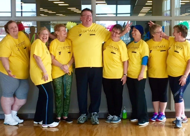 Pictured is the first group of survivors to participate in the LIVESTRONG at the YMCA program at the Fond du Lac Family YMCA.