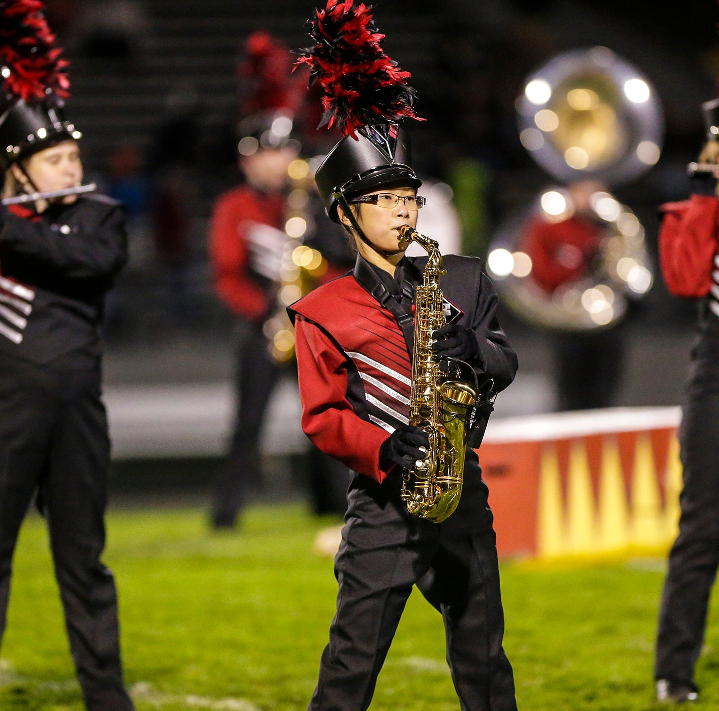 FHS Cardinals' marching band spiffed up with new uniforms, 6 years in the works