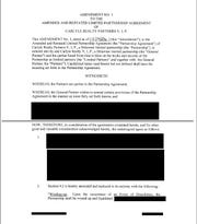 An example of the redacted documents provided through public records requests.