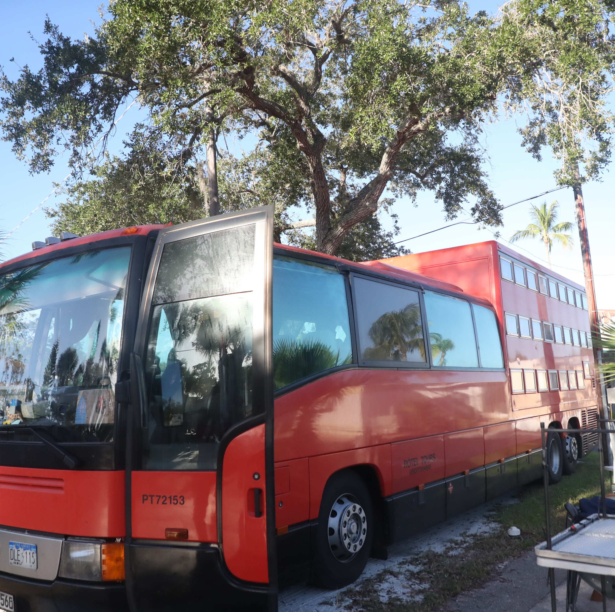 Rotel, the touring German hotel on wheels, rolls to Fort Myers Beach, Sanibel