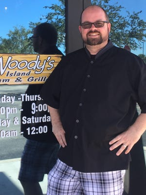 Bob Mulroy is the chef and general manager of Woody's Surfside in Cape Coral.