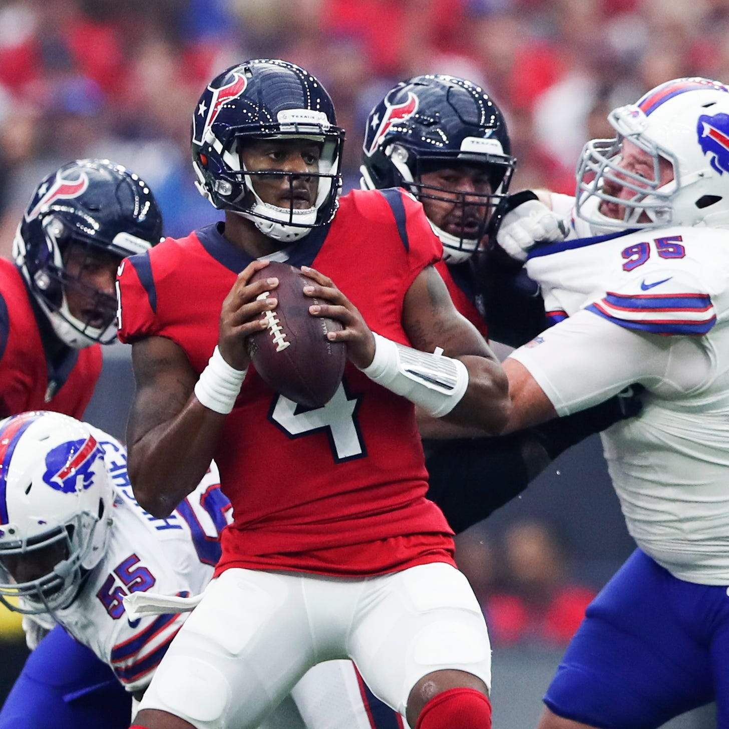 Deshaun Watson passing his way into NFL record books