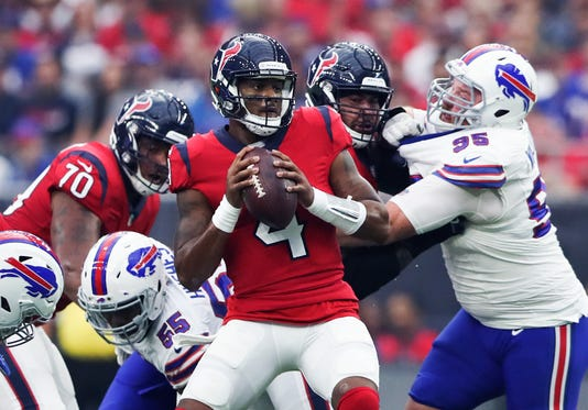 Nfl Buffalo Bills At Houston Texans