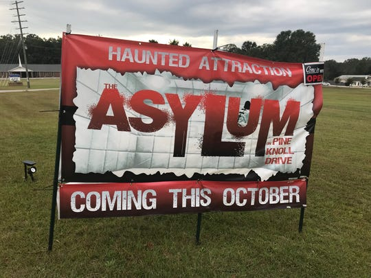 This way to the Asylum, Luke Willis' haunted attraction near Easley.