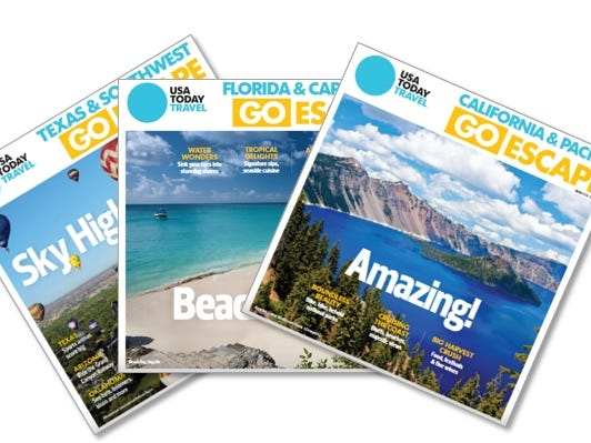Subscriber Access: Regional GoEscape Magazines