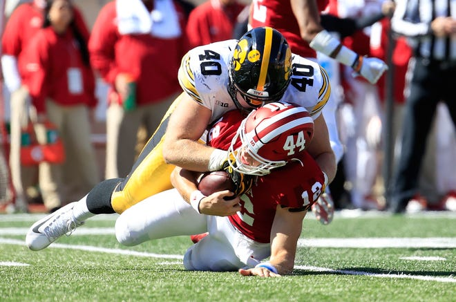 Peyton Ramsey and the IU offense had a rough day in Saturday's lopsided loss to Iowa.