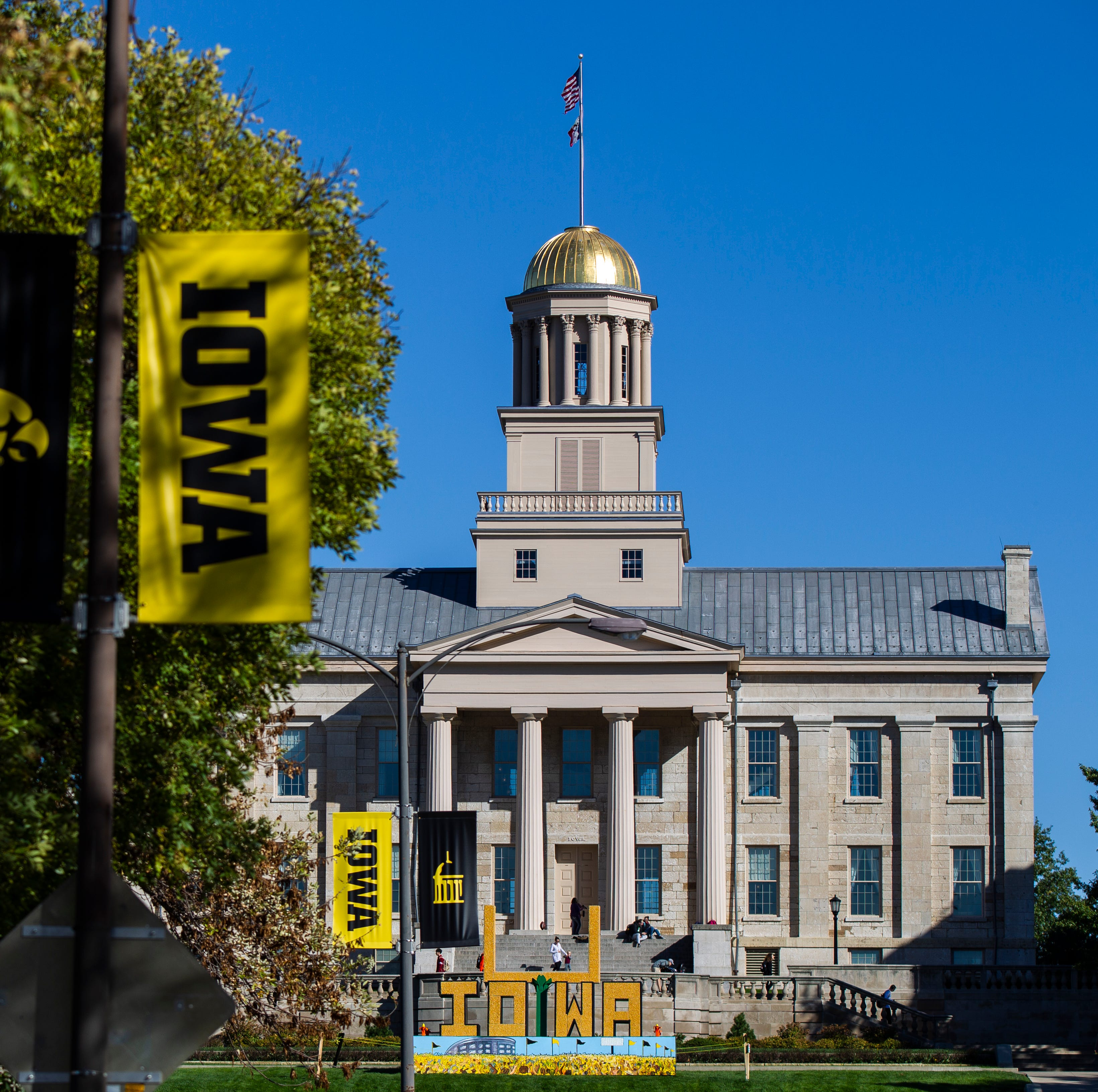 Here's what the University of Iowa's corniest tradition has looked like over the years