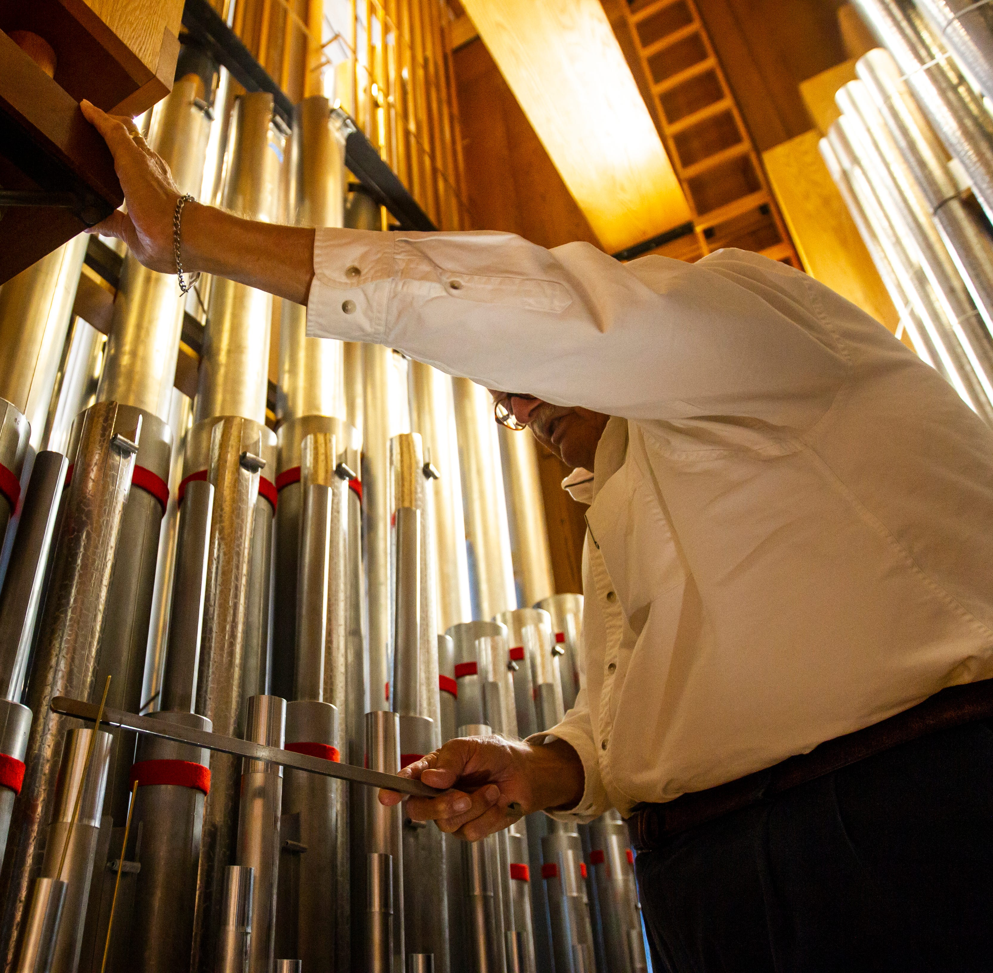 Clapp Recital Hall's organ finds new home at St. Andrew Presbyterian Church