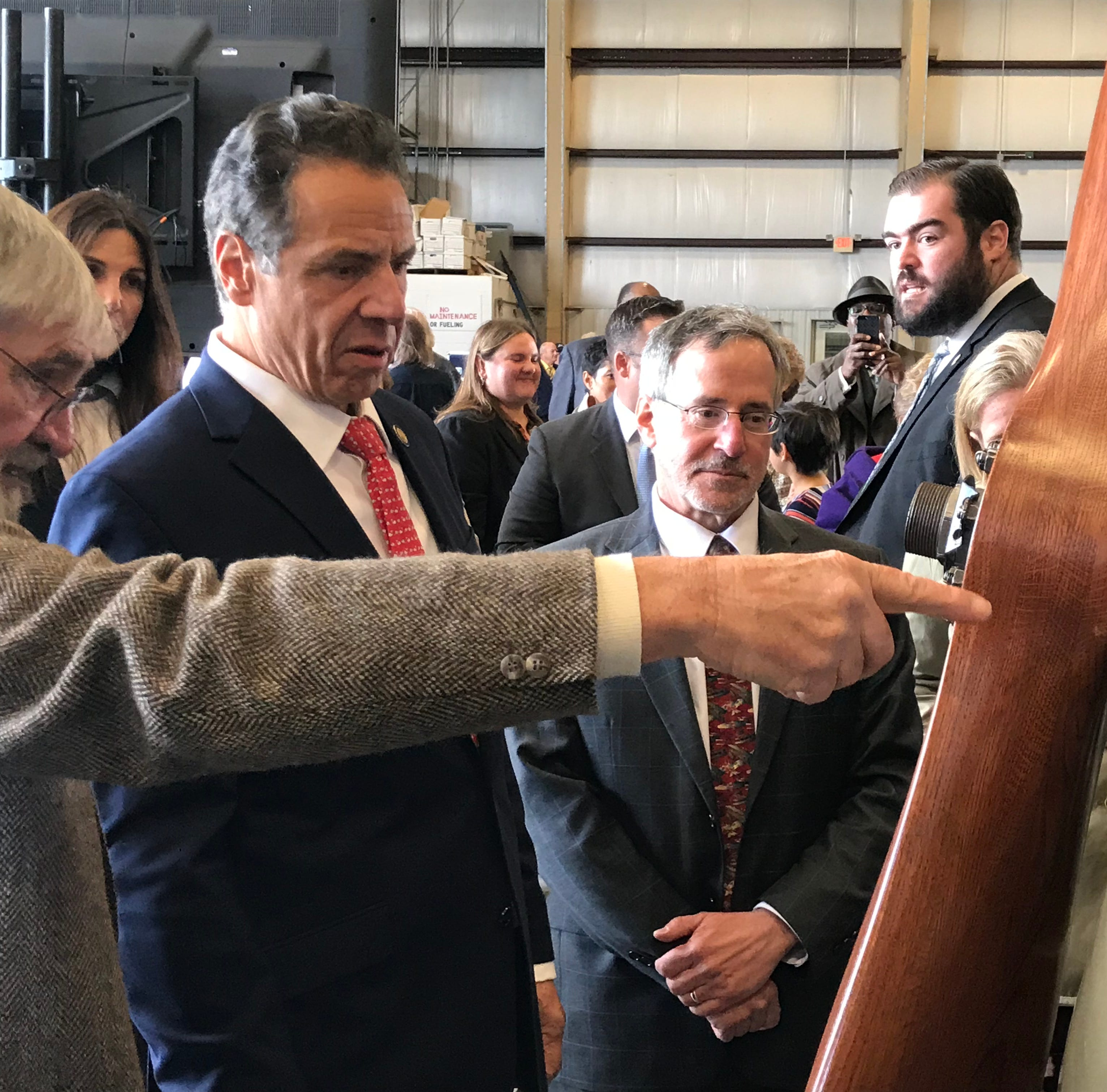 Gov. Andrew Cuomo breaks ground on Ithaca Tompkins Airport expansion