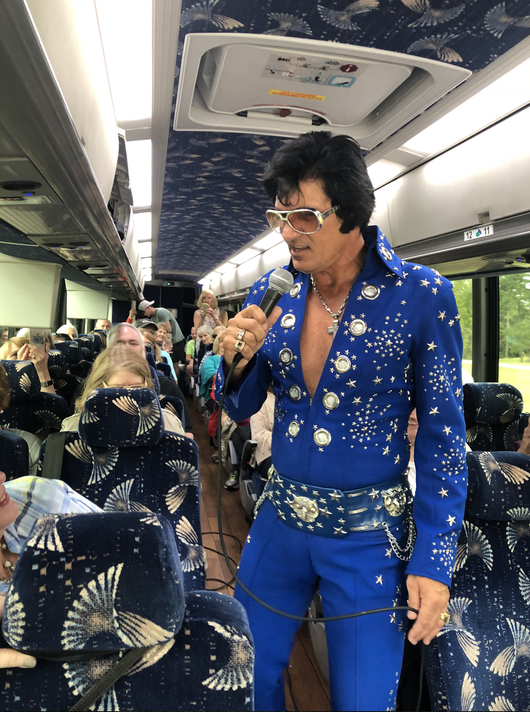Elvis On Bus