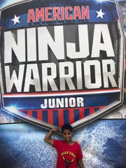 "Knoxville's Enoch Jones competed on ""American Ninja Warrior Junior"" earlier this year."