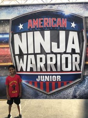 """Knoxville's Enoch Jones competed on """"American Ninja Warrior Junior"""" earlier this year, and it's a spin-off of NBC's """"American Ninja Warrior."""""""