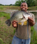 A black crappie caught near Philadelphia, TN broke a world record at 5 pounds, 7 ounces.