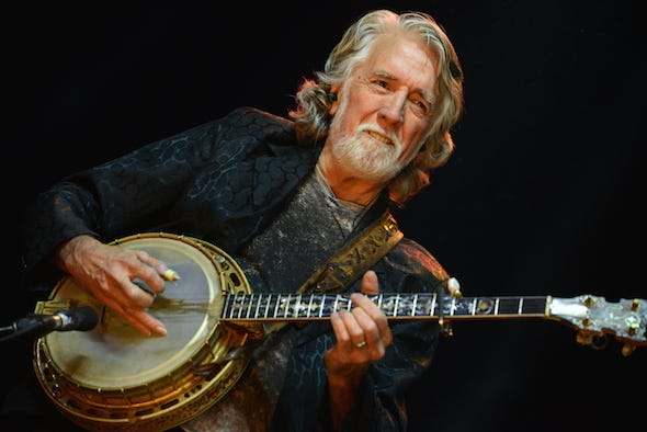 John McEuen, a founding member of the Nitty Gritty Dirt Band,  will be accompanied by his band, the String Wizards, for an Oct. 26 concert at the Delphi Opera House.