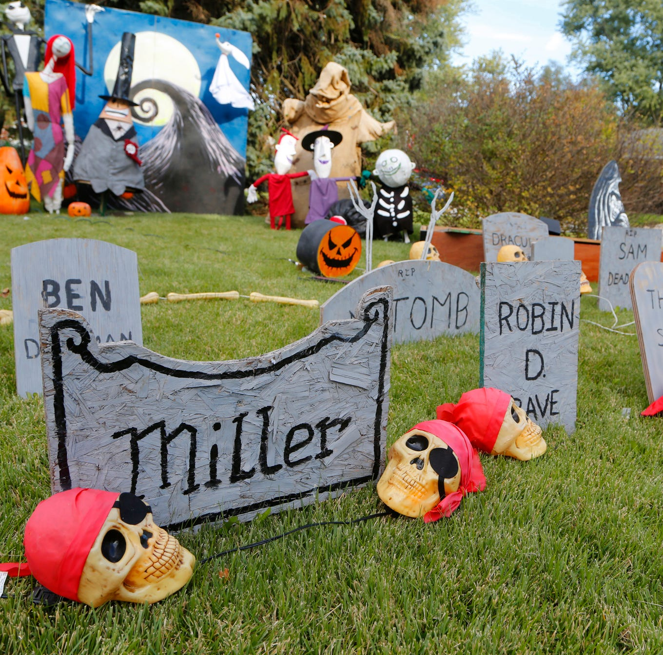 How a Main Street house made Halloween a year-round celebration